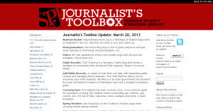 Journalist s Toolbox