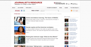 Journalist's Resource