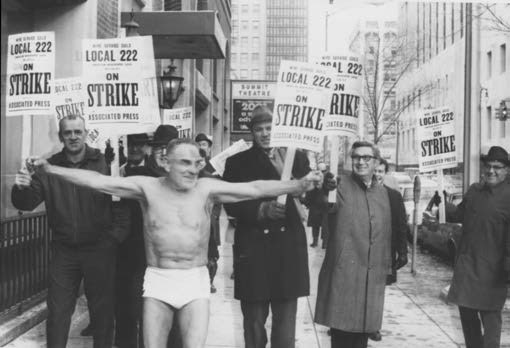 Detroit Newspaper Guild strike 1969