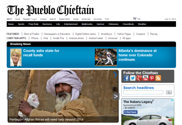 Chieftain-website-600×411 | Denver Newspaper Guild